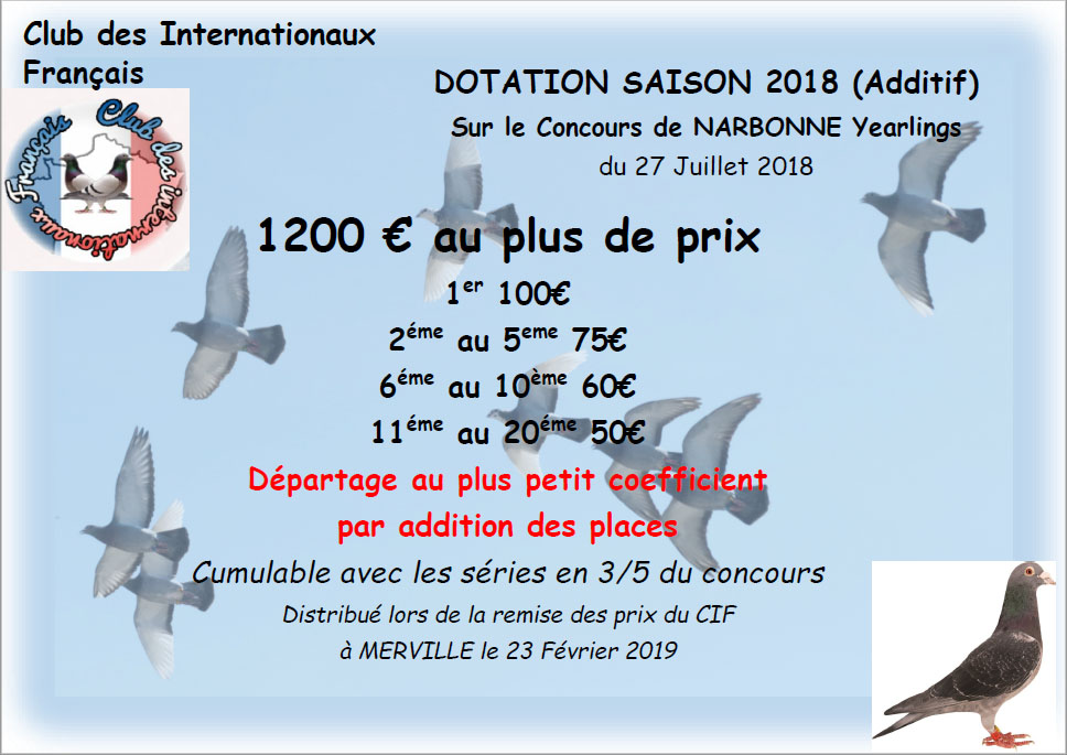 dotation narbonne yearling